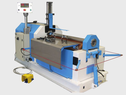 W10 Automatic Two roller Steel bending machine